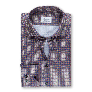 Kaleidoscope Fitted Body Sport Shirt
