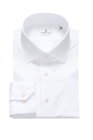Mr. Crown Classic Fit Dress Shirt - White