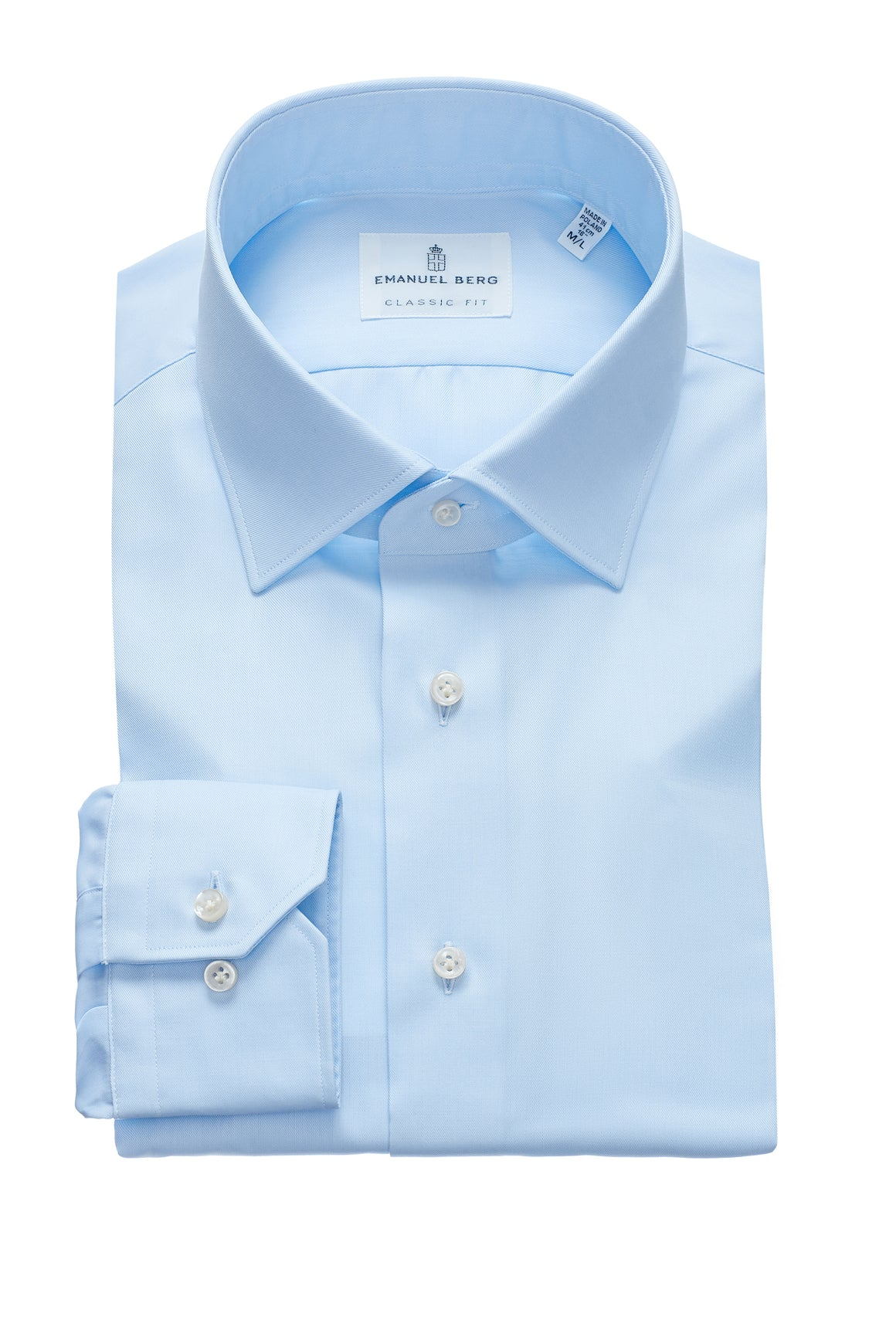 Mr. Crown Classic Fit Dress Shirt - Blue