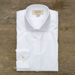 Hagen Go-To White Dress Shirt
