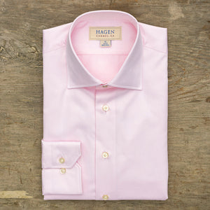 Hagen Go-To Pink Dress Shirt