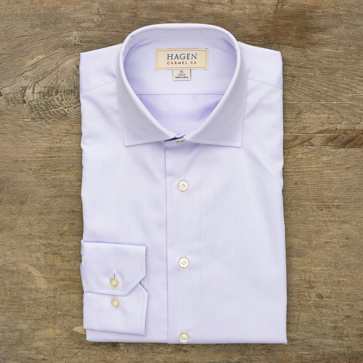 Hagen Go-To Lavender Dress Shirt
