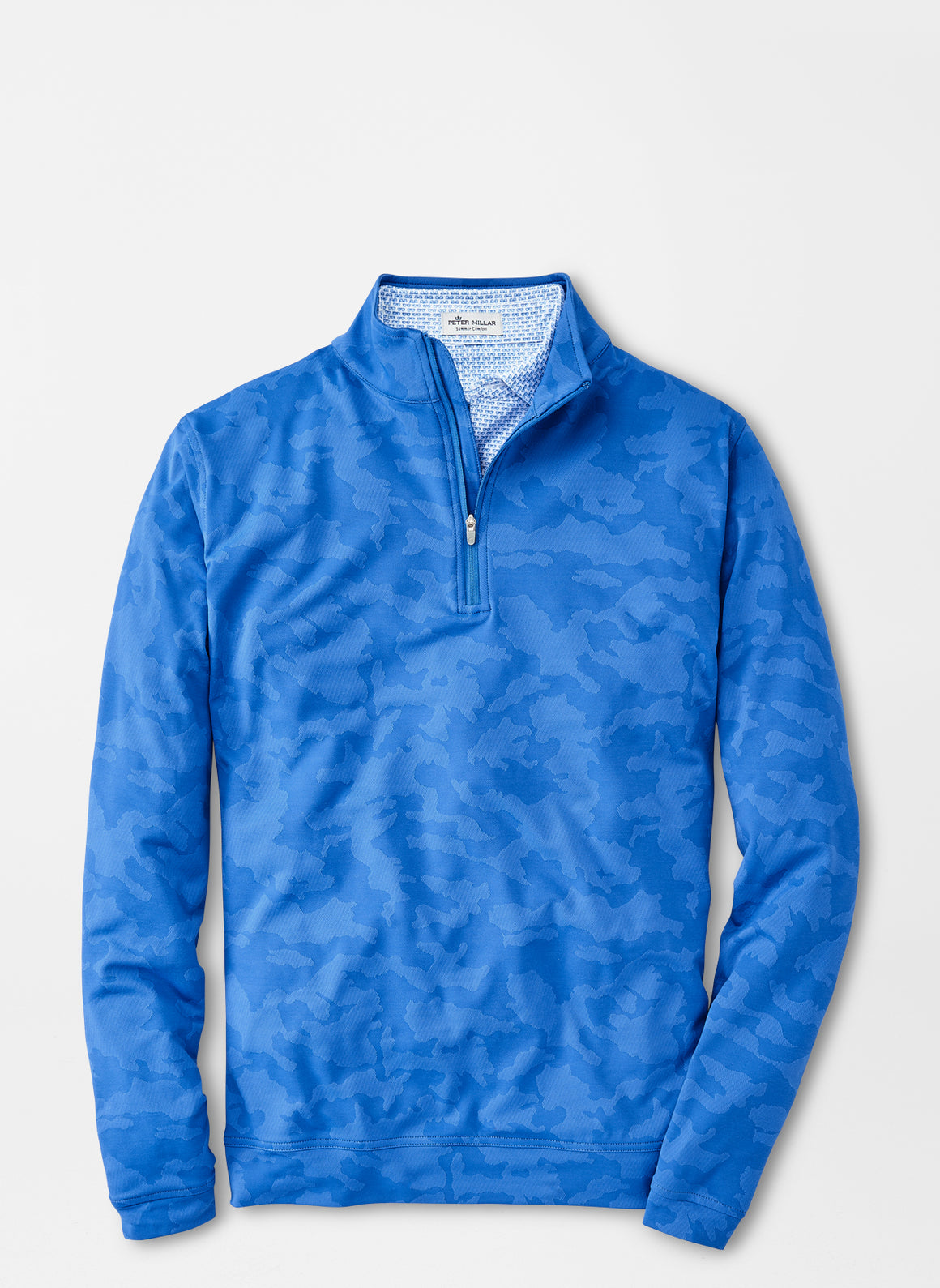 Perth Camo Performance Quarter Zip