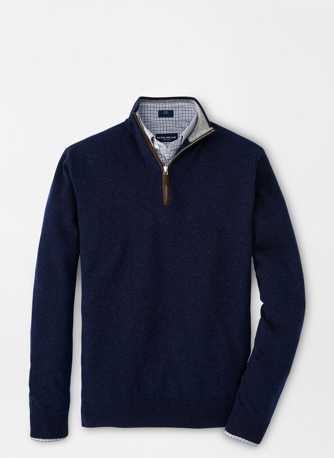 Artisan Crafted Cashmere Quarter Zip