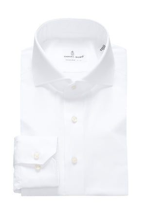 Harvard Modern Fit Fit Dress Shirt - White
