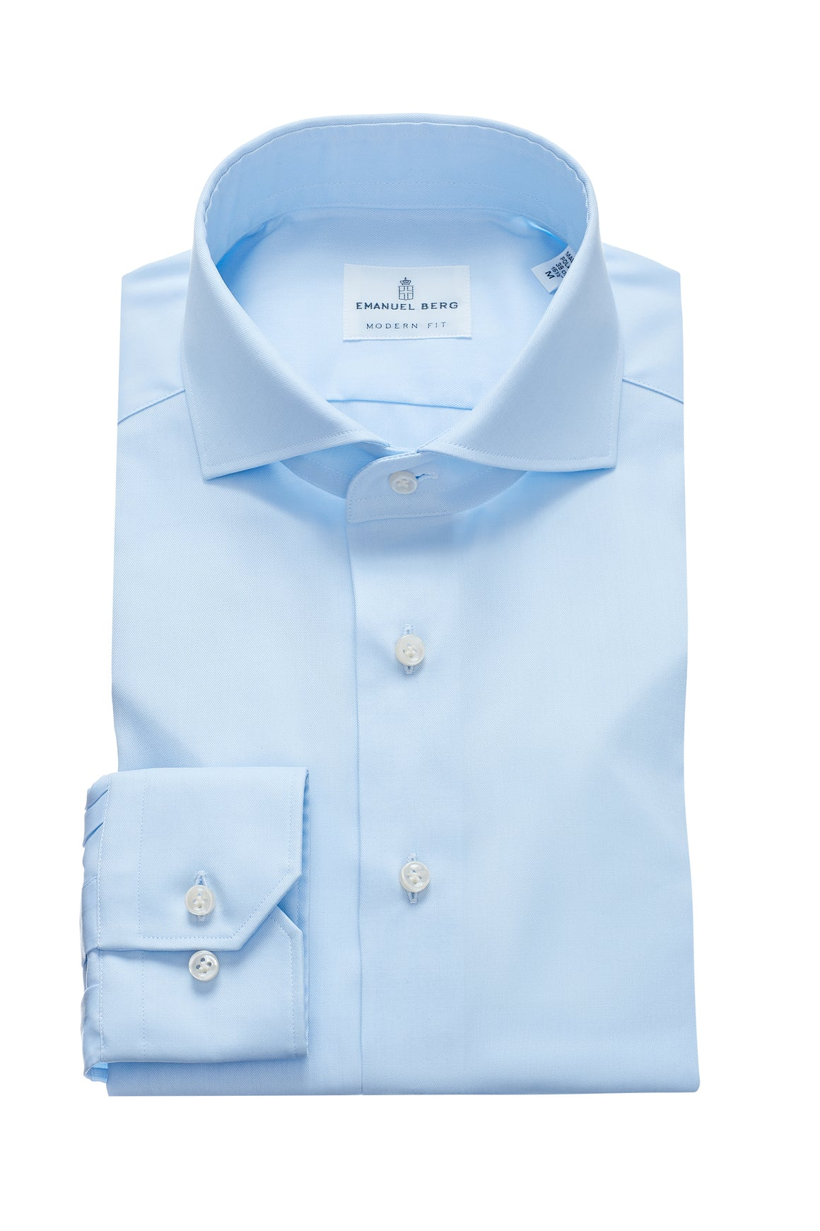 Harvard Modern Fit Fit Dress Shirt - Blue