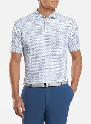 Tailored Fit Blues Open Wheel Performance Polo