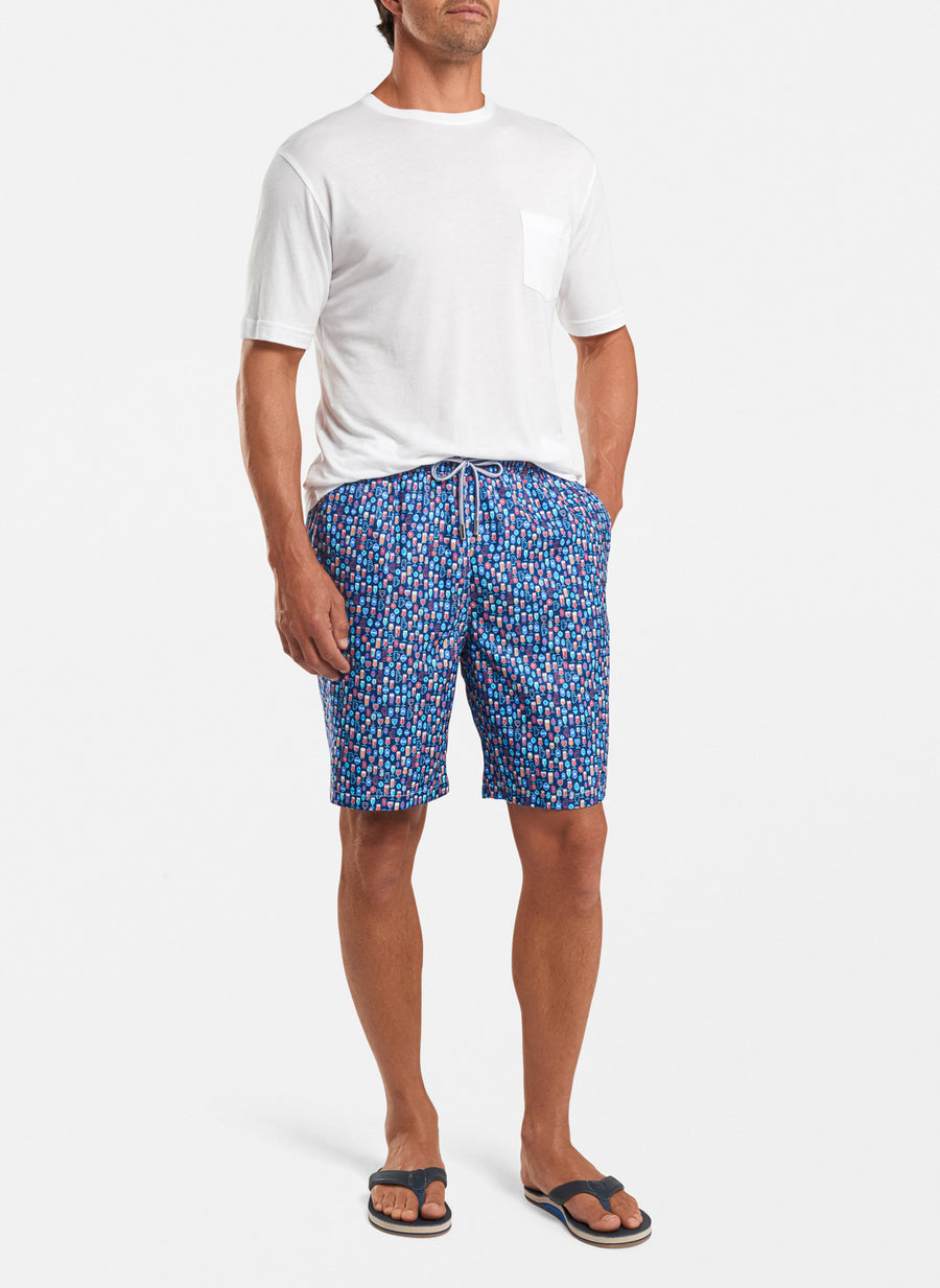 Shakers and Suds Swim Trunk