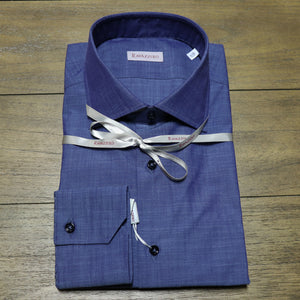 Solid Chambray Sport Shirt