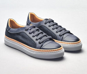 SB646 Calf/Velour Gunmetal