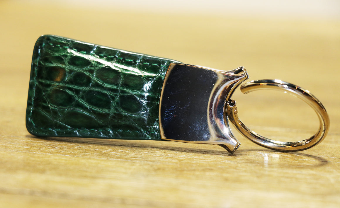 Genuine Alligator Key Fob