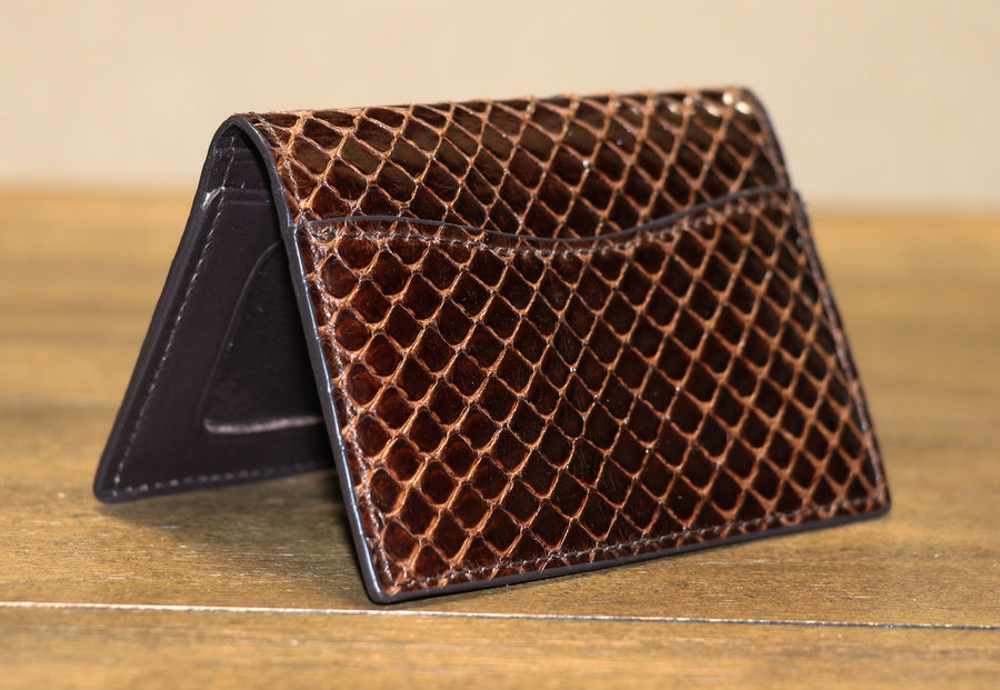 Genuine Anaconda Credit Card ID Case