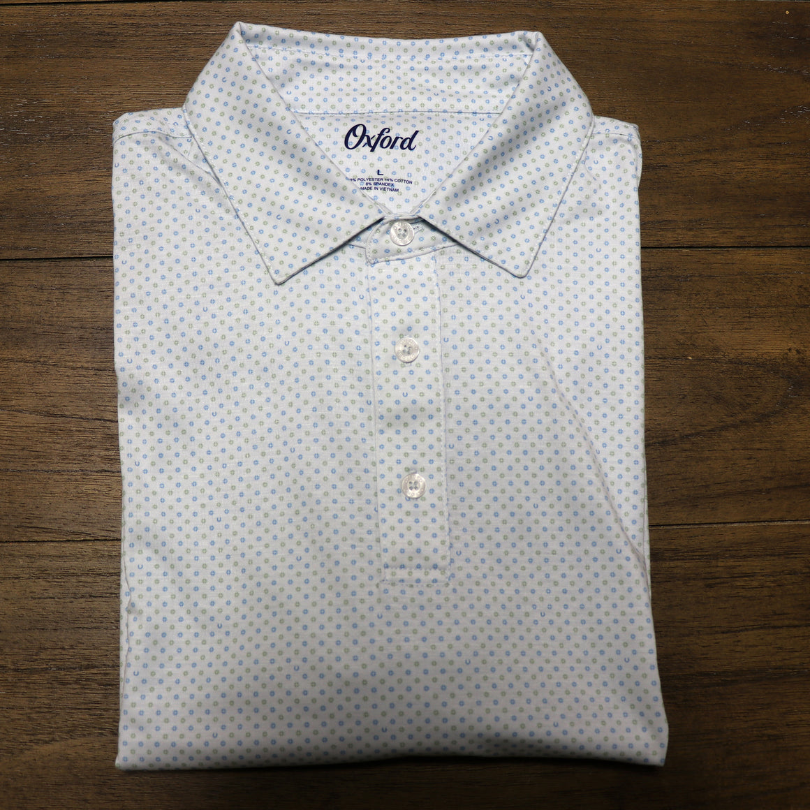 Fillmore Jacquard Performance Polo