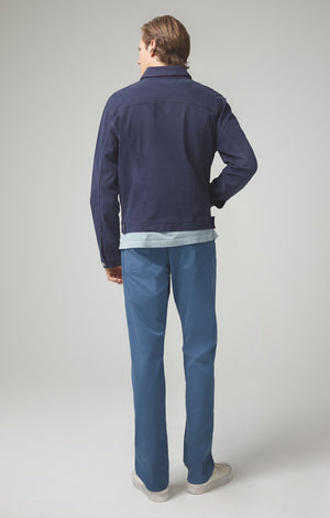 Gage Classic Straight Luxury Sateen in Blue Note