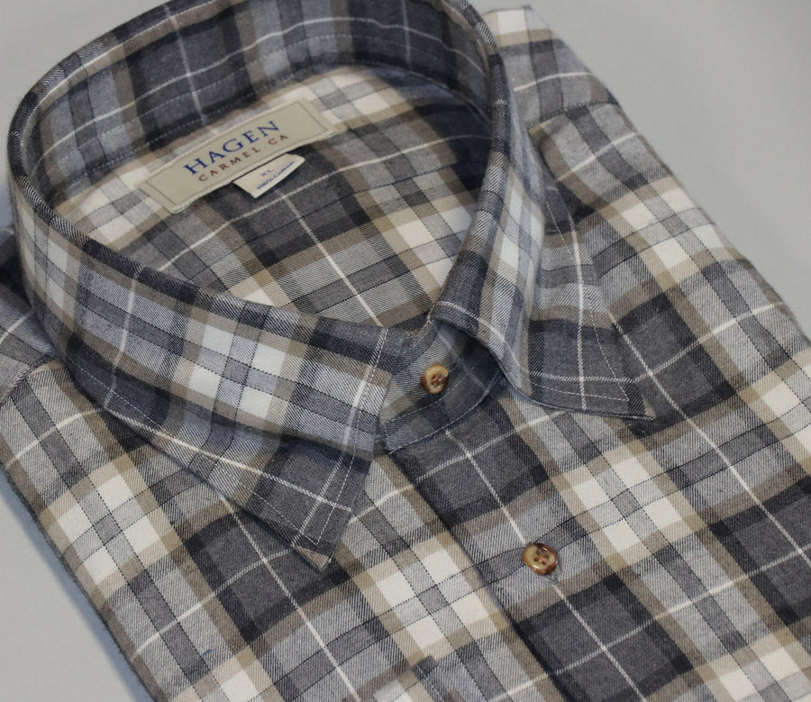 Soft Cotton Flannel Sport Shirt