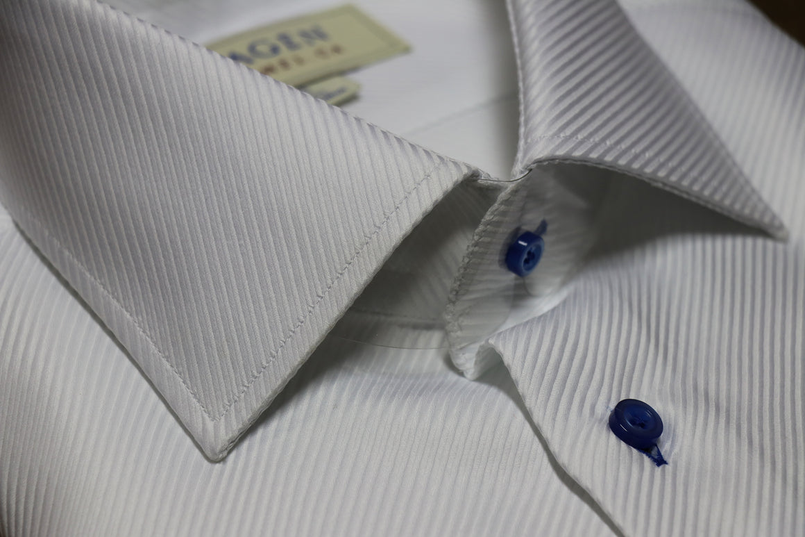 Enlarged Twill Dress Shirt