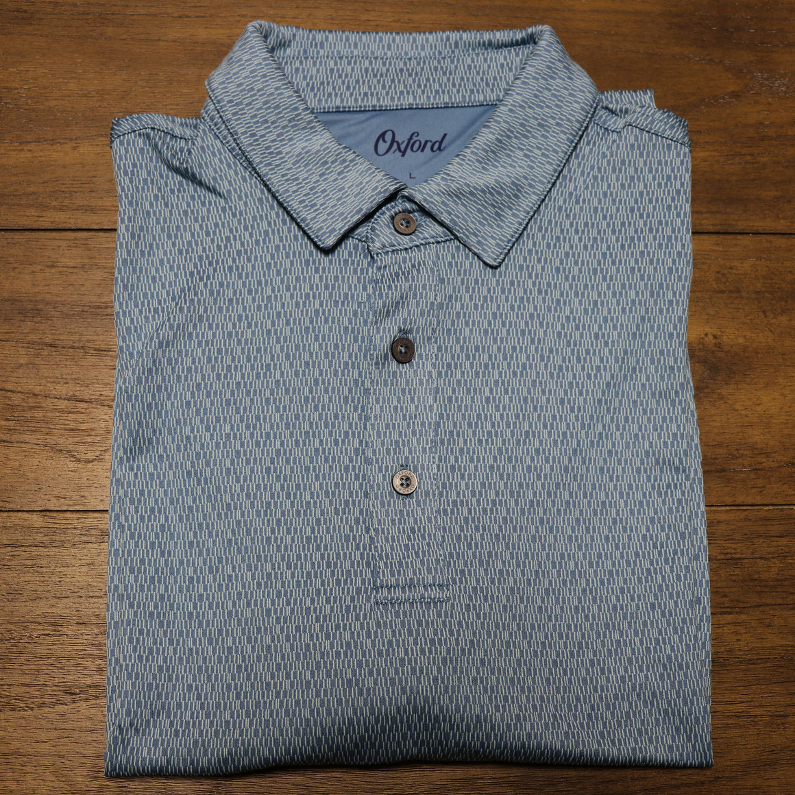 Hamlin Jacquard Performance Polo