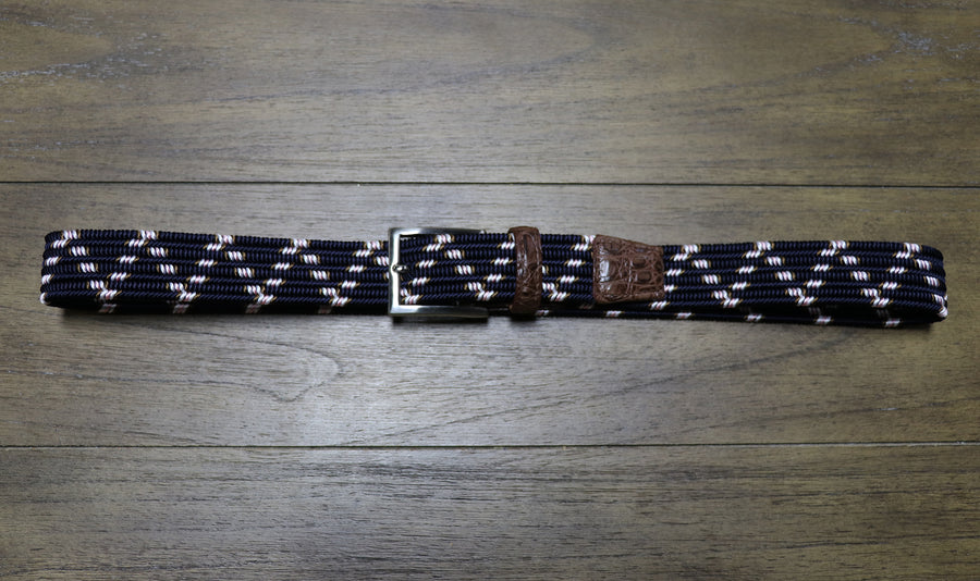 Hartford Patterned Stretch Belt