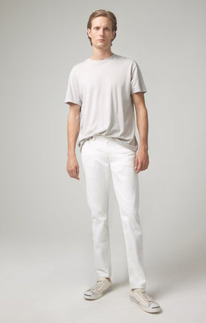London Slim Fit Jean in White Water