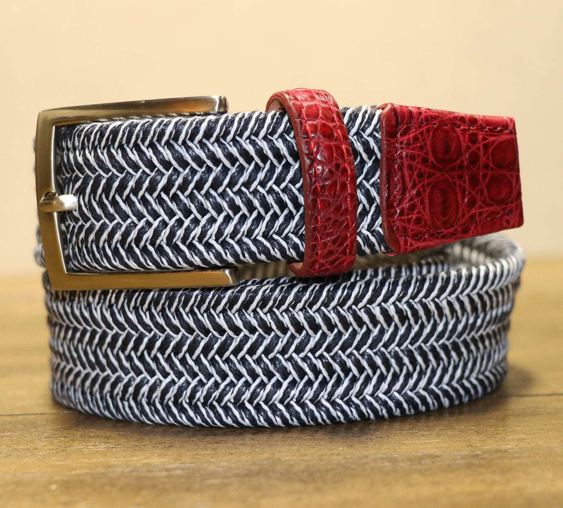 Nantucket Two Tone Stretch Belt