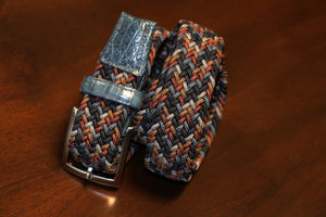 Riverside Patterned Stretch Belt