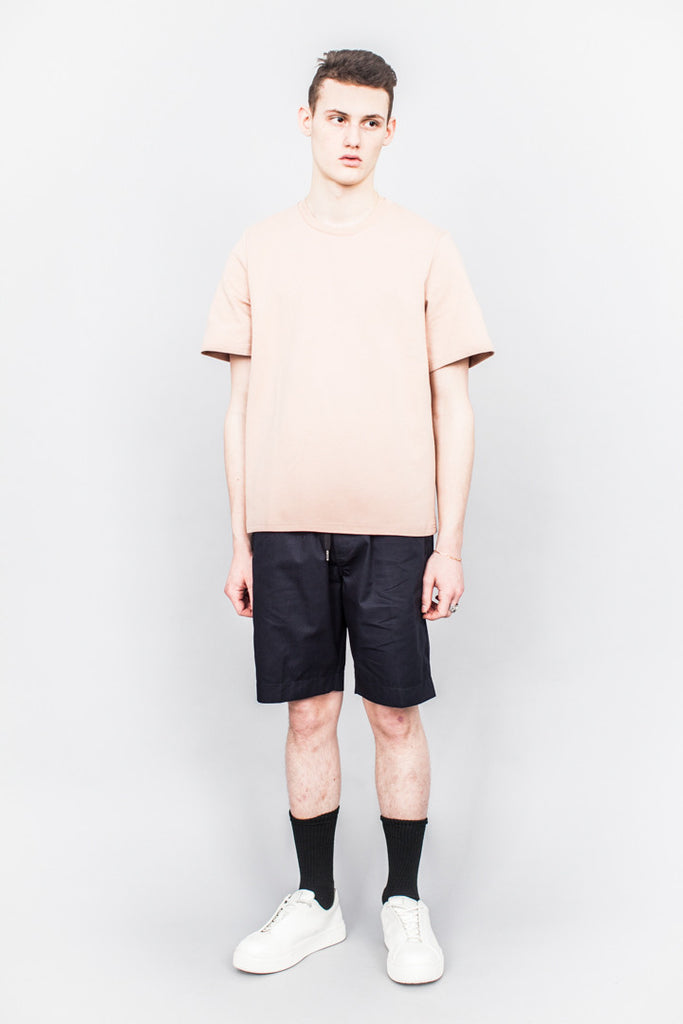 CMMN SWDN Miles Double Jersey T-Shirt Dusty Pink - SOLD OUT