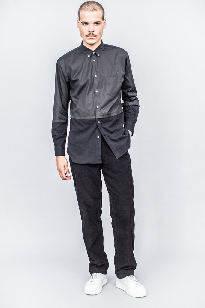 Comme des Garçons SHIRT Combo Fabric Shirt Black - SOLD OUT
