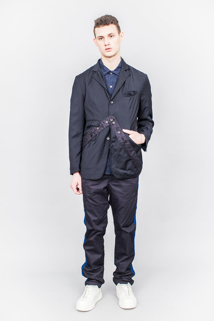 Engineered Garments Andover Jacket Navy Tropical Wool