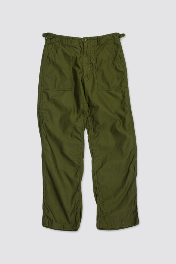 Engineered Garments Fatigue Pant Olive Reversed Sateen