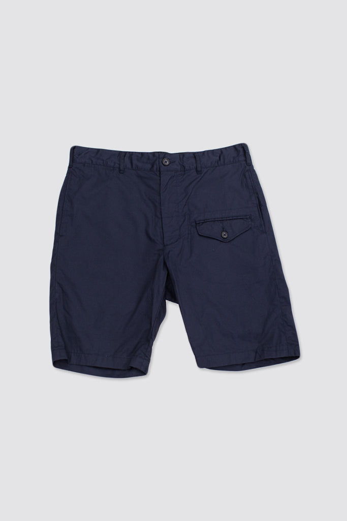 Engineered Garments Ghurka Short Dk. Navy High Count Twill