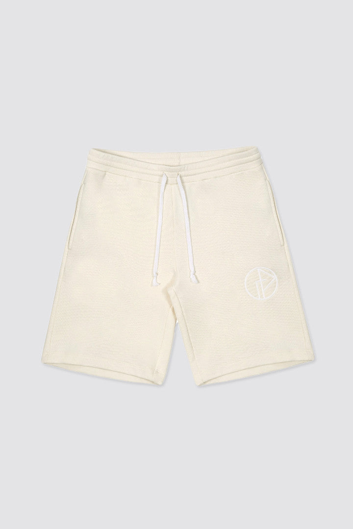 Gosha Rubchinskiy Sweatshort With Logo Cream