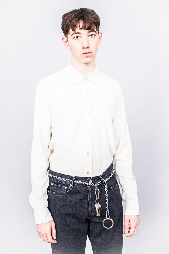 Our Legacy Classic Shirt White Silk