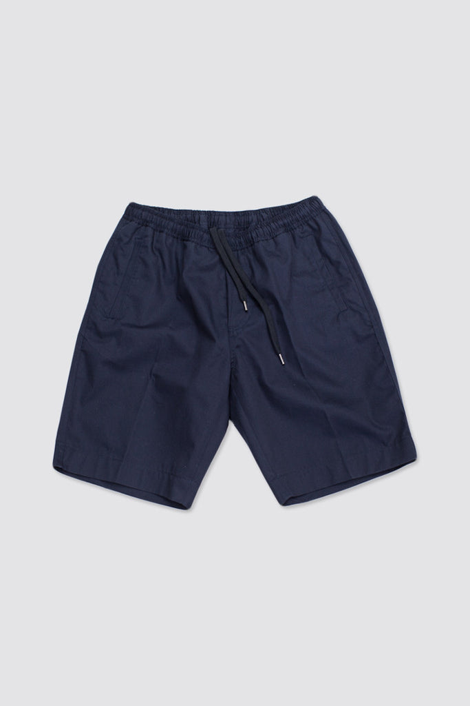 Our Legacy Relaxed Shorts Navy Light Garbardine