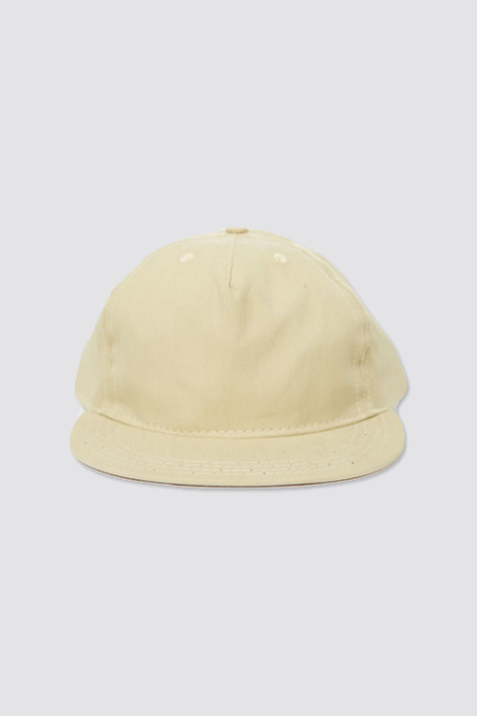 paa Pleat Cap Light Khaki