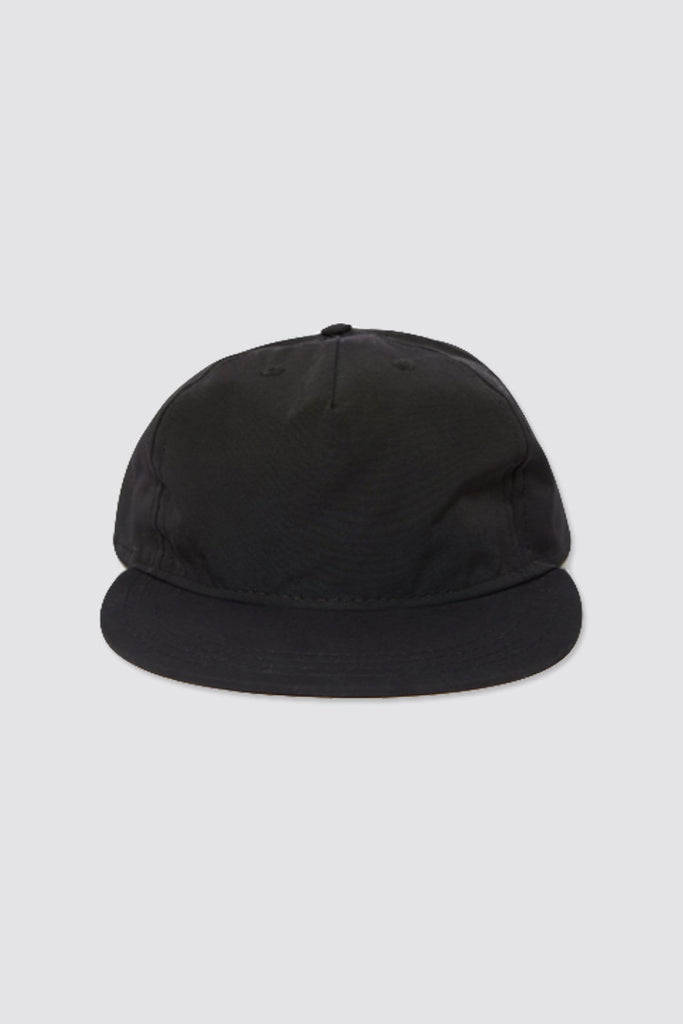 paa Pleat Cap Black