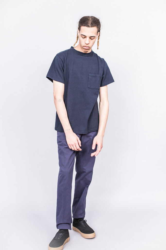 paa SS Pocket Tee Navy