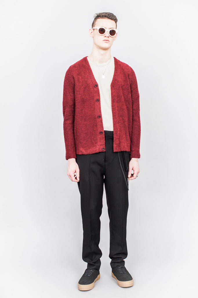 Séfr Séfr Filip Cardigan Cherry Red