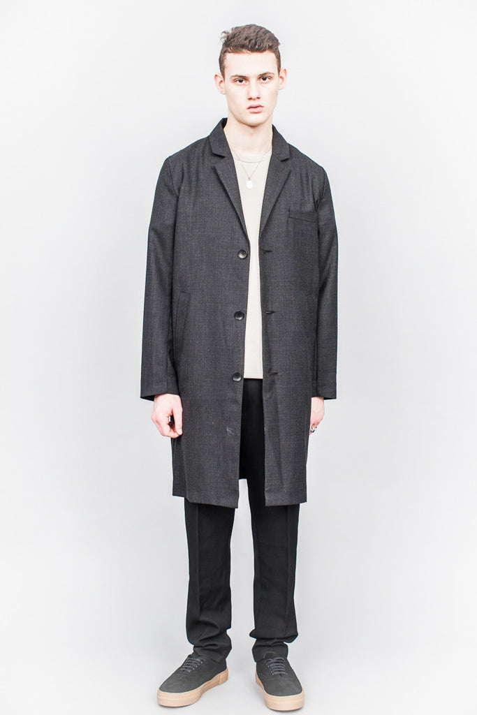 Séfr Séfr Jacob Coat Dark Grey