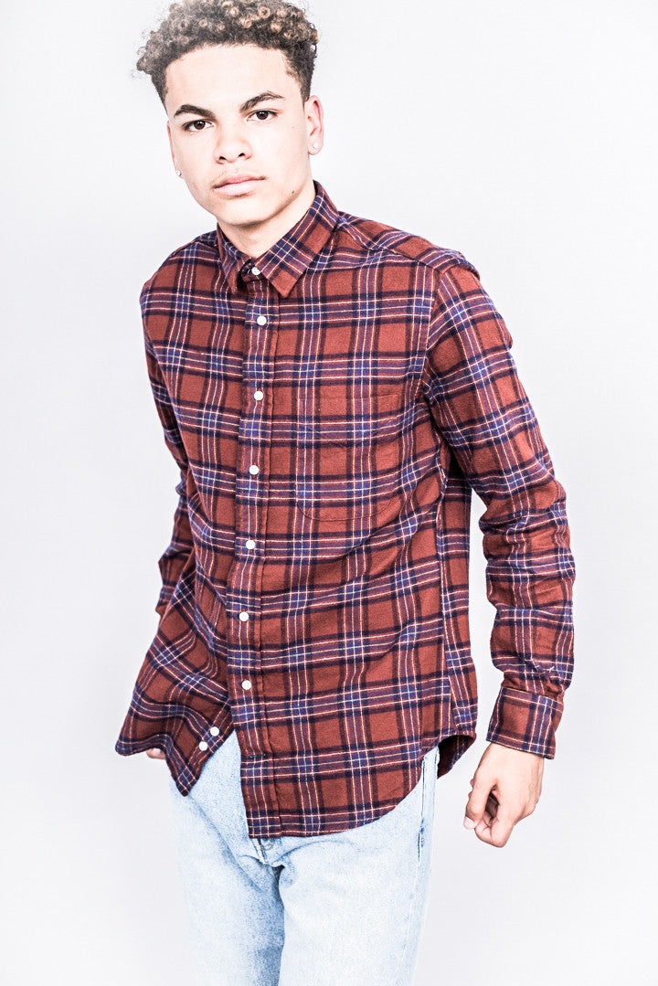 Gitman Bros. Vintage 1-Sided Brushed Japanese Flannel
