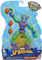 Spider-Man Marvel Bend and Flex Green Goblin Action Figure Toy 6-Inch Flexible Figure