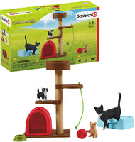 Schleich 42501 Playtime for Cute Cats Farm World