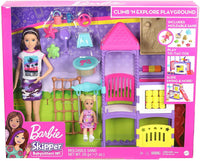 Barbie GHV89 Skipper Babysitters Inc Climb 'n Explore Playground Dolls and Playsets