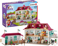 Schleich Horse Club 42416 Large Horse Stable With House and Stable