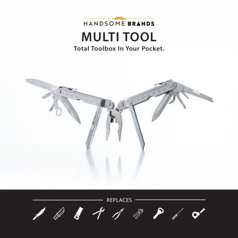 Handsome Multi Tool – Full Handsome Tool Box in Your Pocket 12 in 1