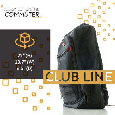 Handsome Top Gear Backpack – Club Line dimensions