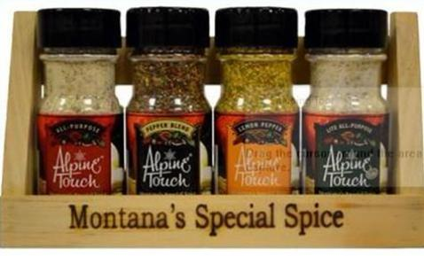 Alpine Touch Seasoning Mixes