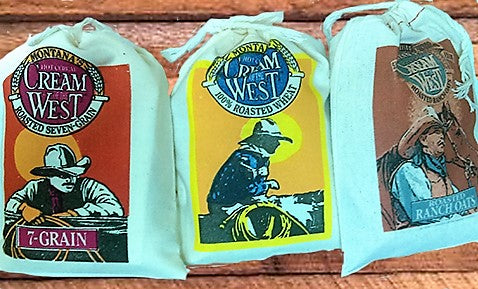 Cream of The West Muslin Hot Cereal Bags