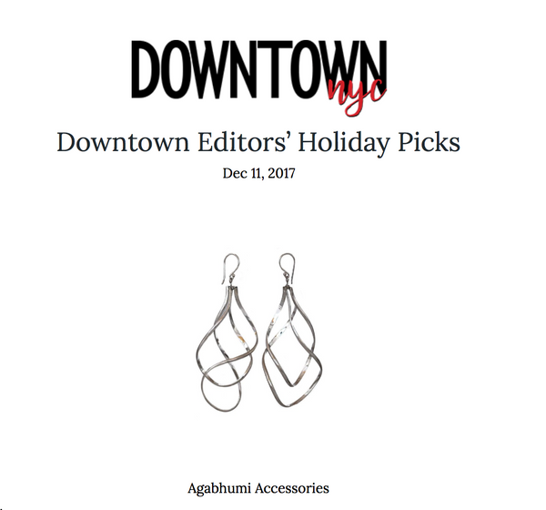 Downtown Editors' Holiday Picks - Agabhumi Feature