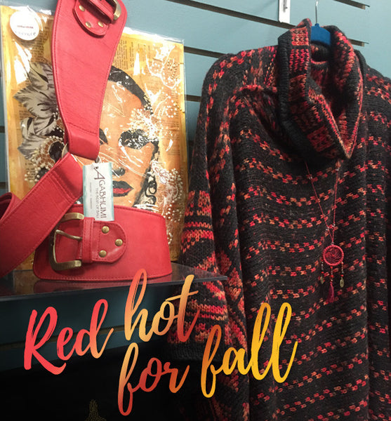 Red HOT for fall!