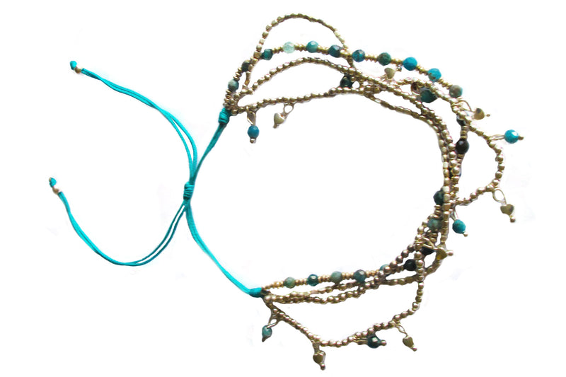 Beaded anklet - Agabhumi